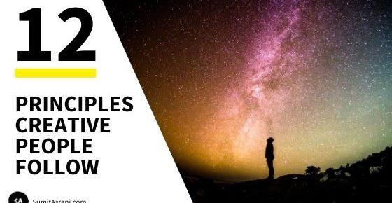 12 Principles Creative People Follow